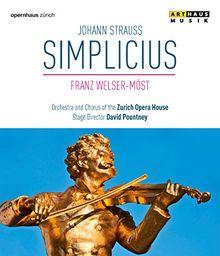 Johann Strauss: Simplicius (Zürcher Opernhaus, 2000) [Blu-ray]