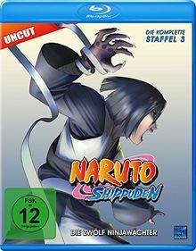 Naruto Shippuden, Staffel 3: Die Zwölf Ninjawächter (Episoden 274-291, uncut) [Blu-ray]