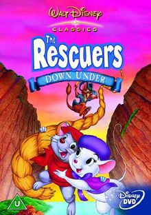 The Rescuers Down Under [UK Import]