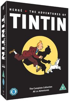 The Adventures of Tintin - Complete Collection [5 DVDs] [UK Import]
