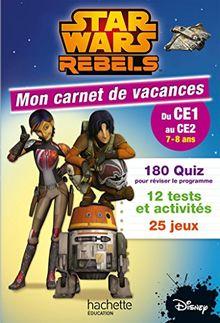 Mon carnet de vacances Star Wars Rebels : Du CE1 au CE2