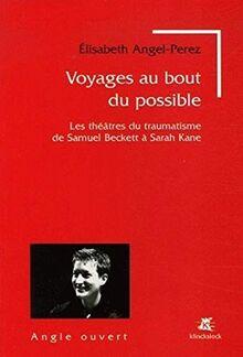 Voyages au bout du possible : Les théâtres du traumatisme de Samuel Beckett à Sarah Kane: Les Theatres Du Traumatisme de Samuel Beckett a Sarah Kane (Angle Ouvert, Band 2)