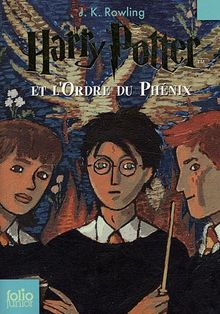 Harry Potter 5 et l'ordre du Phénix (Folio Junior)