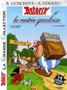 Asterix, französische Ausgabe, Bd.32 : Asterix et la rentree gauloise; Asterix plaudert aus der Schule, französische Ausgabe