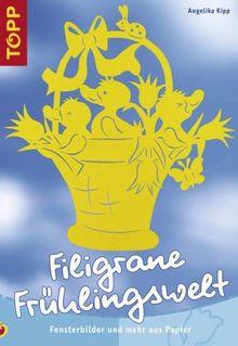 Filigrane Frühlingswelt: Fensterbilder und mehr aus Papier