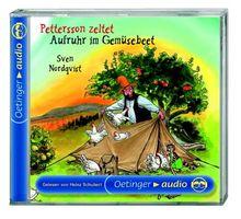 Pettersson zeltet / Aufruhr im Gemüsebeet. CD: Lesung