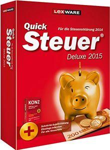 QuickSteuer Deluxe 2015 (für Steuerjahr 2014)