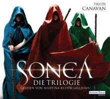 Sonea- Die Trilogie: Die Hüterin - Die Heilerin - Die Königin