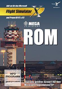 Flight Simulator X - Mega Airport Rom (Add - On) - [PC]