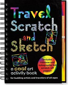 Travel Scratch and Sketch: A Cool Art Activity Book for Budding Artists and Travelers of All Ages (Scratch & Sketch)