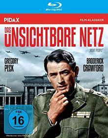 Das unsichtbare Netz (Night People) / Kultfilm mit Gregory Peck, Peter van Eyck und Marianne Koch (Pidax Film-Klassiker) [Blu-ray]