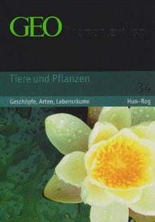 GEO Themenlexikon 34 Tieren und Pflanzen: Leben im Meer, auf dem Land, in der Luft: BD 34