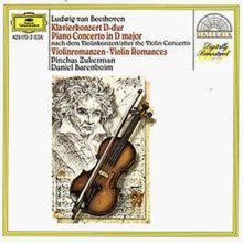 Klavierkonzert D-Dur / Violinromanzen 1 und 2