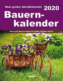 Abreißkalender Bauernkalender 2020