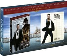 "James Bond - Casino Royale (limitierte Collectors Edition 2-DVD mit Bond ""On Set""-Buch) [Limited Collector's Edition]"