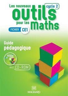 Les nouveaux outils pour les maths CE1 Cycle 2 : Guide pédagogique (1Cédérom)