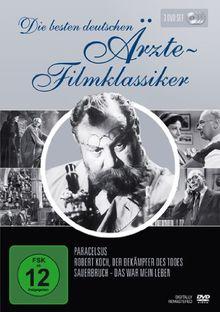 Die besten deutschen Ärzte-Filmklassiker (Paracelsus / Robert Koch, Der Bekämpfer des Todes / Sauerbruch - Das war mein Leben) [3 DVDs]
