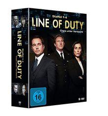 Line of Duty - Cops unter Verdacht, Staffel 1-4 [9 DVDs]