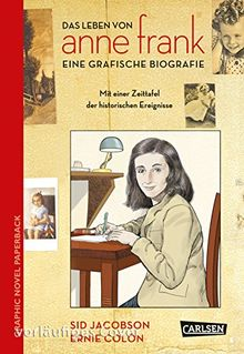 Anne Frank: Die Comic-Biografie (Graphic Novel Paperback)