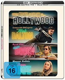 Once Upon A Time In… Hollywood (Limited UHD/BD Steelbook) Amazon Exklusiv [Blu-ray]