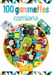 100 gommettes camions
