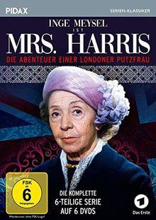 Mrs. Harris - Die Abenteuer einer Londoner Putzfrau / Die komplette 6-teilige Serie mit Inge Meysel (Pidax Serien-Klassiker) [6 DVDs]