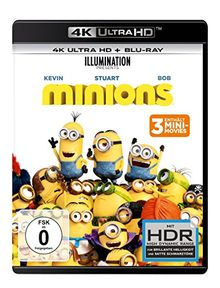 Minions (4K Ultra HD) (+ Blu-ray 2D)