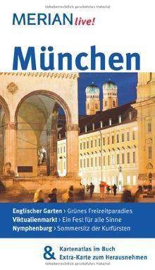 München: Mit Kartenatlas im Buch und Extra-Karte zum Herausnehmen (MERIAN live)