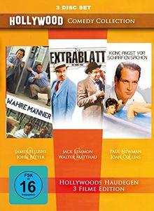 Hollywood Comedy Collection : Wahre Männer - Extrablatt - Keine Angst vor scharfen Sachen [3 DVDs]