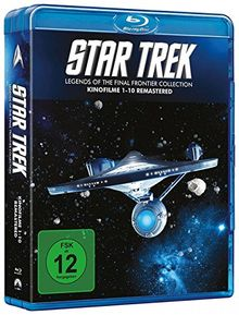 Star Trek I-X - Die Kinofilme 1-10 - Legends of the Final Frontier Collection (10 Blu-rays)