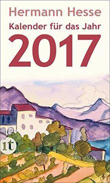 Insel-Kalender für das Jahr 2017 (insel taschenbuch)