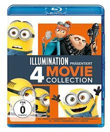 Ich - Einfach unverbesserlich 1-3 & Minions [Blu-ray]