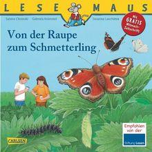 LESEMAUS, Band 116: Von der Raupe zum Schmetterling