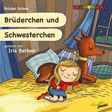 Brüderchen und Schwesterchen gelesen von Iris Berben - ICHHöRMAL: CD mit Musik und Geräuschen, plus 16 S. Ausmalheft
