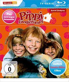 Pippi Langstrumpf TV-Serie Blu-ray Box - Sammler-Edition [Limited Edition]