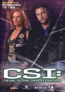 CSI: Crime Scene Investigation - Season 4.2 (Amaray) [3 DVDs]