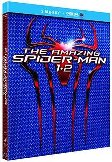 Coffret the amazing spider-man : the amazing spider-man ; the amazing spider-man 2, le destin d'un héros [Blu-ray] [FR Import]