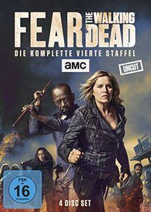 Fear the Walking Dead - Die komplette vierte Staffel - Uncut [4 DVDs]