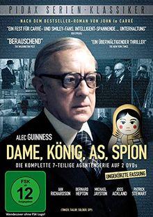 Pidax Serien-Klassiker: Dame, König, As, Spion (Tinker, Tailor, Soldier, Spy) - Die Komplette Serie [2 DVDs]