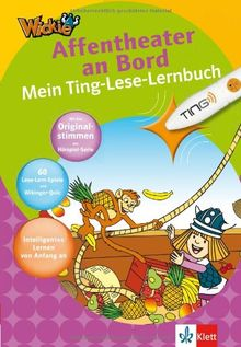 Wickie - Affentheater an Bord: Mein Ting-Lese-Lernbuch 1. Klasse