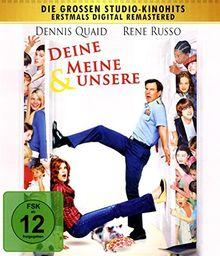Deine, meine & unsere - Digital Remastered - Remake [Blu-ray]