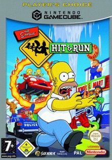 Simpsons - Hit & Run (Player's Choice)