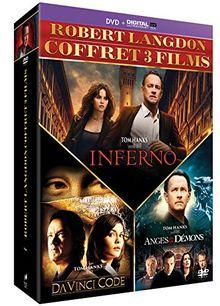 Coffret dan brown 3 films : da vinci code ; anges et démons ; inferno