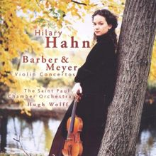 Violinkonzerte von Meyer und Barber
