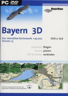 Bayern 3D Version 1.5, Süd (DVD-ROM)