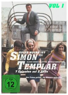 Simon Templar - Folge 1 - 7 [2 DVDs]