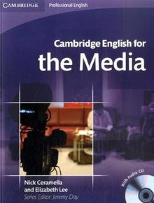 Cambridge English for the Media: Student's Book + Audio-CD