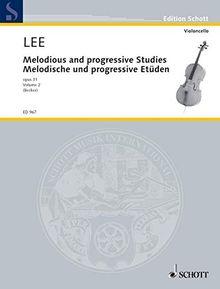 Melodious and progressive Studies: Heft 2. op. 31. Violoncello. (Edition Schott)