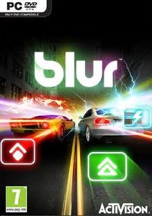 BLUR PC Spiel DEUTSCH, Anleitung Französisch