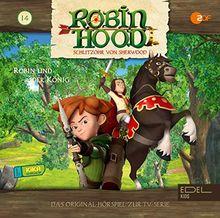 Robin Hood - Schlitzohr von Sherwood - Folge 14: Robin und der König (Staffel 2) - Das Original-Hörspiel zur TV-Serie